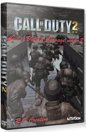 Call of Duty 2 Carnage Mod 2 v1.2 (PC/2012/Repack Creative)