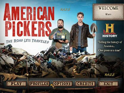 American Pickers: The Road Less Traveled (PC/2012)