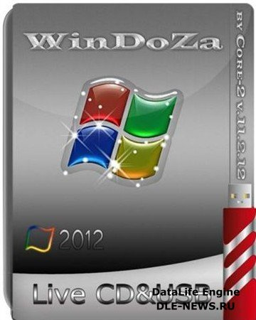 WinDoZa Live CD & USB by Core-2 11.2.12 (2012/ENG/RUS)