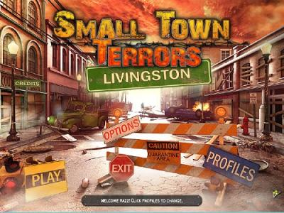 Small Town Terrors. Livingston / Small Town Terrors. Livingston (2012)