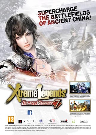 Dynasty Warriors 7 Xtreme Legends / Shin Sangoku Musou 6 with Moushouden