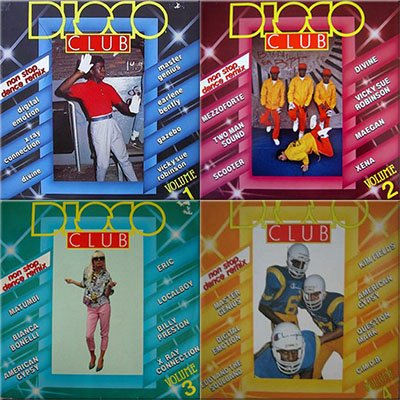Disco Club Volume 01-04 (1983-1985)