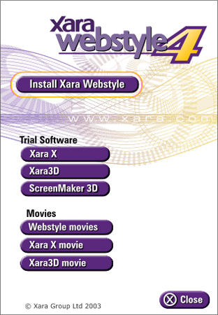 Xara WebStyle4