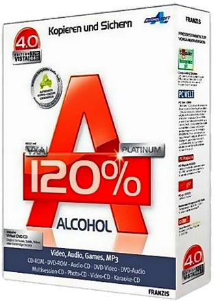 Alcohol 120% v2.0.2 Build 3929 Portable/RePack (2012)