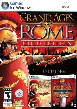 Grand Ages Rome Gold Edition / Великие Эпохи Рим Золотое издание (2010/RUS/Акелла)