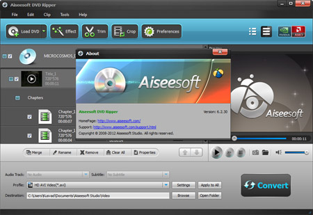 Aiseesoft Multimedia Software Ultimate 6.2.30 (2012)