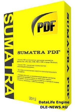 Sumatra PDF 2.2.6456 & Portable (ML/RUS/2012)