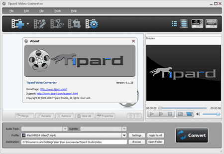 Tipard DVD Software Toolkit Platinum 6.1.36 + Portable