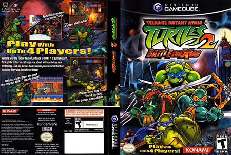 Teenage Mutant Ninja Turtles 2 Battle Nexus (PC/RUS)