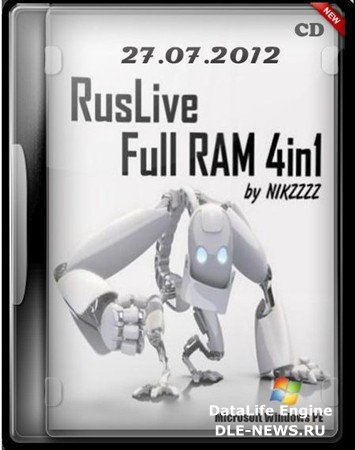 RusLiveFull RAM 4in1 by NIKZZZZ CD (2012/RUS/ENG)