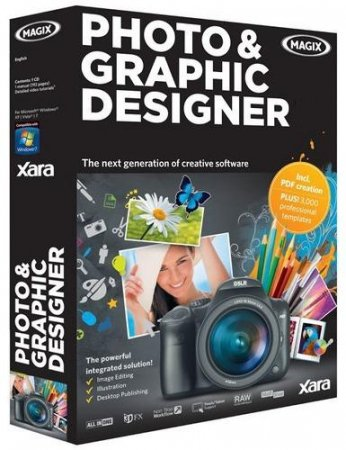 Xara Photo & Graphic Designer MX 8.1.2.23228